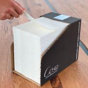 Handtuch COSA 30x49 cm im Dispenser