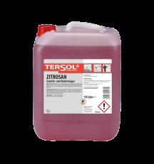 TERSOL Zitrosan, Sanitär- und Badreiniger auf Fruchtsäurebasis, 10 Liter