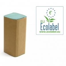 Papier-Falthandtuch recycling GRÜN, 25 x 23 cm, ZZ/V-Falz, 1-lagig
