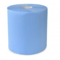 Papier-Handtuch-Rolle Midi 20 cm, blau