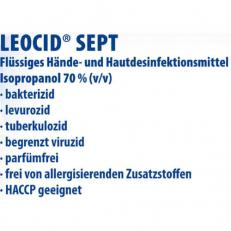 Händedesinfektion Leocid® Sept, 100 ml
