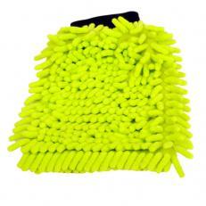 Mikrofaser-Handschuh, grün, ca. 16 x 24 cm