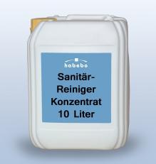 Sanitärreiniger-Konzentrat, RK-gelistet, 10 Liter