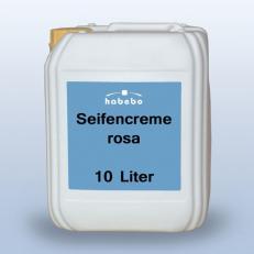 Seifencreme, rosa, handmild, 10 Liter