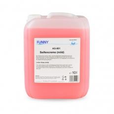 Seifencreme, hautverträglich, 10 Liter, mikroplastikfrei