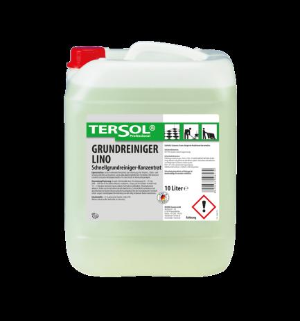 TERSOL Grundreiniger Lino, Grundreiniger-Konzentrat für Linoleum, 10 Liter