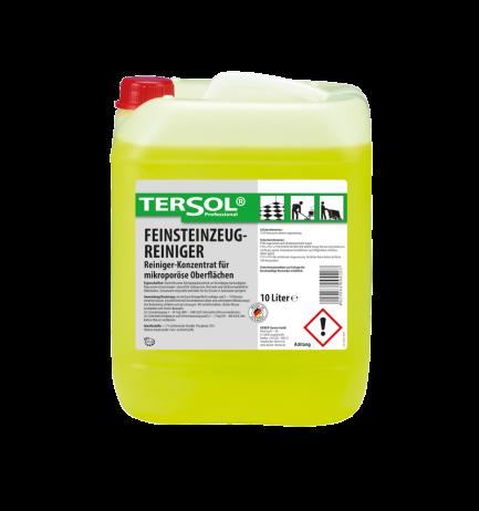 TERSOL Feinsteinzeugreiniger, Reiniger-Konzentrat für Feinsteinzeug, 10 Liter
