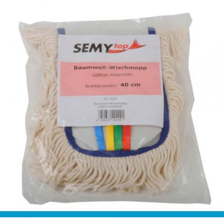 Baumwoll-Wischmopp 40 cm mit Taschen