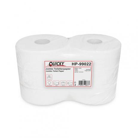 WC-Jumborolle hochweiß, geprägt, 2-lag., Ø 25 cm