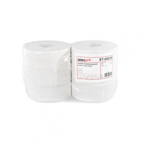 WC-Grossrolle Recyclingpapier, geprägt, 2-lag., Ø 25 cm, Kern 7,6 cm